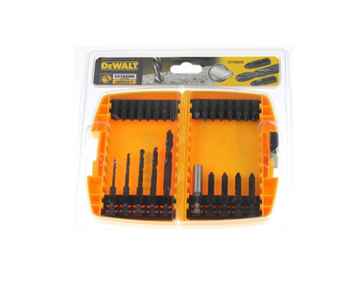 Dewalt DT70503B-QZ Extreme Impact Drill & Screwdriving Set 26 Pce
