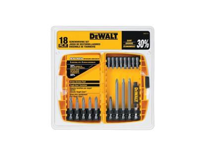 Dewalt DW2174 Screwdriver Bit Set 18 Pce