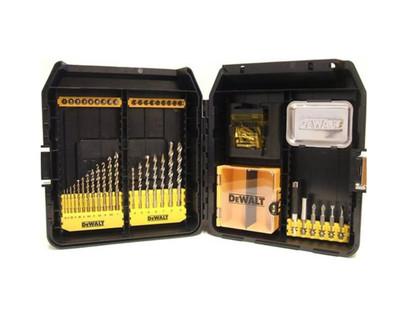 Dewalt DT9281-QZ Mini-Mac Masonry & Metal Drilling Set 63 Pce