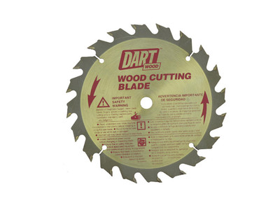 Dart Wood Cutting 136mm dia x 10mm bore x 20T