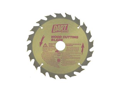 Dart Wood Cutting 140mm dia x 20mm bore x 20T
