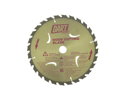Dart Wood Cutting 180mm dia x 20mm bore x 28T