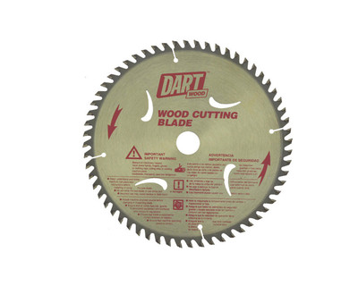 Dart Wood Cutting 180mm dia x 20mm bore x 60T.