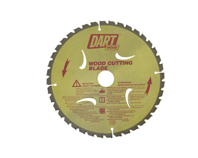 Dart Wood Cutting 216mm dia x 30mm bore x 40T