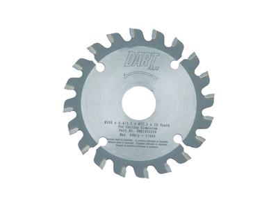 Dart Aluminium MIlling 100mm dia x 22mm bore x 20T