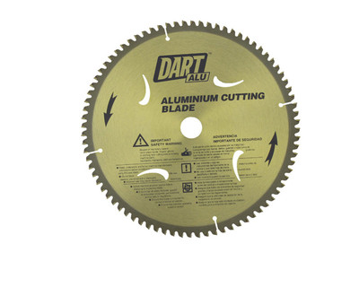 Dart Aluminium Cutting 255mm dia x 25mm bore x 80T