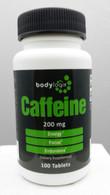 Bodylogix Caffeine 200mg; 100 tabs