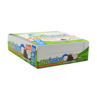 SAN Raw Fusion Bar Chocolate Coconut Crunch: 12 - 2.5 oz Bars