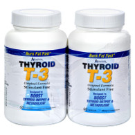 Absolute Nutrition Thyroid T-3 - 60 Capsules Each / Pack of 2