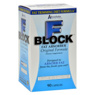 Absolute Nutrition FBlock Fat Absorber - 90 Caps