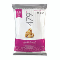 479 Degrees Artisan Popcorn - Sea Salt Caramel - Case of 12 - 5 oz.