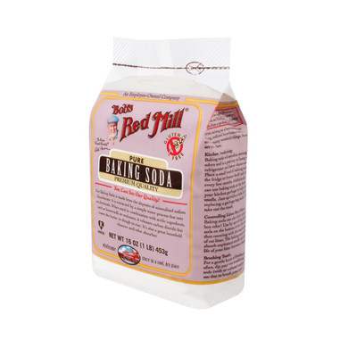 Bob's Red Mill Baking Soda - 16 oz - Case of 4