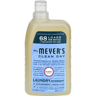 Mrs. Meyer's 68 Load 4x Laundry Detergent - Bluebell - 34 fl oz - Case of 6