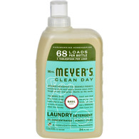 Mrs. Meyer's 68 Load 4x Laundry Detergent - Basil- 34 fl oz
