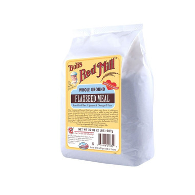 Bob's Red Mill Brown Flaxseed Meal - 32 oz - Case of 4