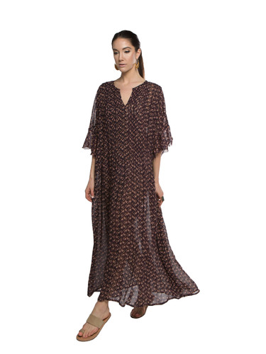 Pleated Caftan