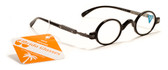 Mens Womens Round Reading Glasses +125,150,175,200,225,250,275,300 Power Reader