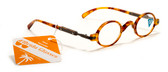 Mens and Womens Round Reading Glasses +125,150,175,200,225,250,275,300 Power Reader