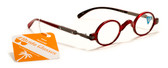 Mens and Womens Round Reading Glasses +1.25, 1.50, 1.75, 2.00, 2.25, 2.50, 2.75, 3.00 Power Reader