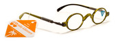 Mens Womens Round Reading Glasses + 125, 150, 175, 200, 225, 250, 275, 300 Power Reader