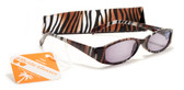 Womens Animal Print Reading Sunglasses w/ Soft Case +150 ,200 ,250 ,300 Power Sun Reader