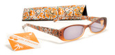 Womens Flower Style Reading Sunglasses +125, 150, 175, 200, 225, 250 Power Sun Reader