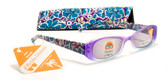 Womens Flower Reading Sunglasses +125, 150, 175, 200, 225, 250, 275, 300 Power Sun Reader