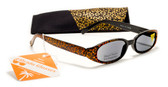 Shimmer Womens Reading Sunglasses w/ Case +125, 150, 175, 200, 225, 250 Reader Sun Glasses