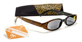 Shimmer Womens Reading Sunglasses w/ Case +125, 150, 175, 200, 225, 250 Reader Sun Glasses