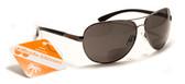 Vin Diesel Style Polarized Bifocal Sunglasses for Men and Women + 1.50, 2.00, 2.50, 3.00 Sun Readers