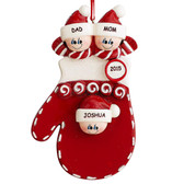 Warm Hands & Hearts Family Ornament