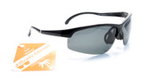 Polarized Running Sunglasses Half-Rimless with Polycarbonate Lens