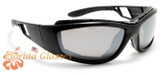 Motorcycle Goggles Sunglasses Padded Shatterproof Polycarbonate Unisex