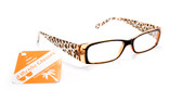 Women's Reading Animal Print Glasses