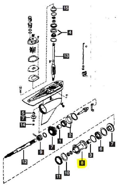 New Aftermarket Mercury/Mariner 200 DFI-250 HP V6 3.0L