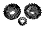 New Aftermarket Mercury/Mariner 6-Jaw 75-90 HP 3-CYL Gear Set [Replaces OEM #43-850034T & 43-859472A3]