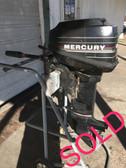 "1987 Mercury 9.9 HP 2 Cylinder 2 Stroke 15"" Outboard Motor"