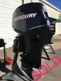 """2012 Mercury Verado 150 HP 4 Stroke 25"""" DTS Outboard Motor"""
