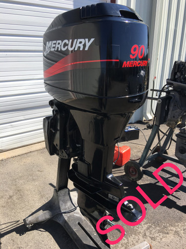 2001 mercury 90 hp 3 cyl 2 stroke carbureted 20 outboard for Used 90 hp outboard motors