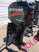 "1998 Mercury 50 HP 4 Cyl 4 Stroke Carbureted 20"" Outboard Motor"
