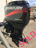 "2003 Mercury 75 HP 4 Cylinder 4 Stroke Carbureted 20"" Outboard Motor"