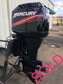 "2003 Mercury 90 HP 3 Cylinder 2 Stroke Oil Injection Carbureted 20"" Outboard Motor"