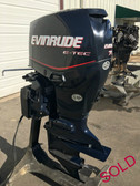 """2008 Evinrude E-Tec 75 HP 3 Cylinder 2 Stroke Direct Injection 20"""" Outboard Motor"""