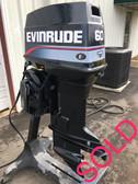 """1991 Evinrude 60 HP 3 Cylinder 2 Stroke 20"""" Outboard Motor"""