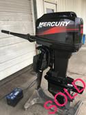 "2001 Mercury 60 HP 3 Cylinder 2 Stroke 20"" Outboard Motor"