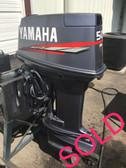 "2002 Yamaha 50 HP 3 Cylinder 2 Stroke 20"" Outboard Motor"