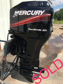 "2004 Mercury 115 HP 4 Cylinder 4 Stroke EFI 25"" XL Shaft Outboard Motor"