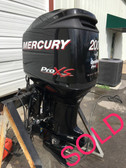 "2011 Mercury 200 HP Optimax ProXS DFI V6 2 Stroke 20"" Outboard Motor"