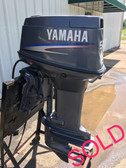 "2006 Yamaha 50 HP 3 Cylinder Carbureted 2-Stroke 20"" Outboard Motor"