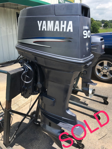 2003 yamaha 90 hp 3 cylinder 2 stroke 20 outboard motor for Used 90 hp outboard motors
